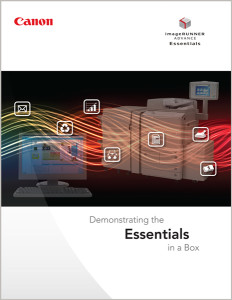 "The Spark Creative team created the branding and design for Canon USA's ""Essentials"" sales support materials."