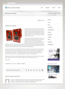 Spark provided content, design, development, and social media campaigns for Electric Record Machines.