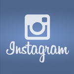 Instagram social media tile